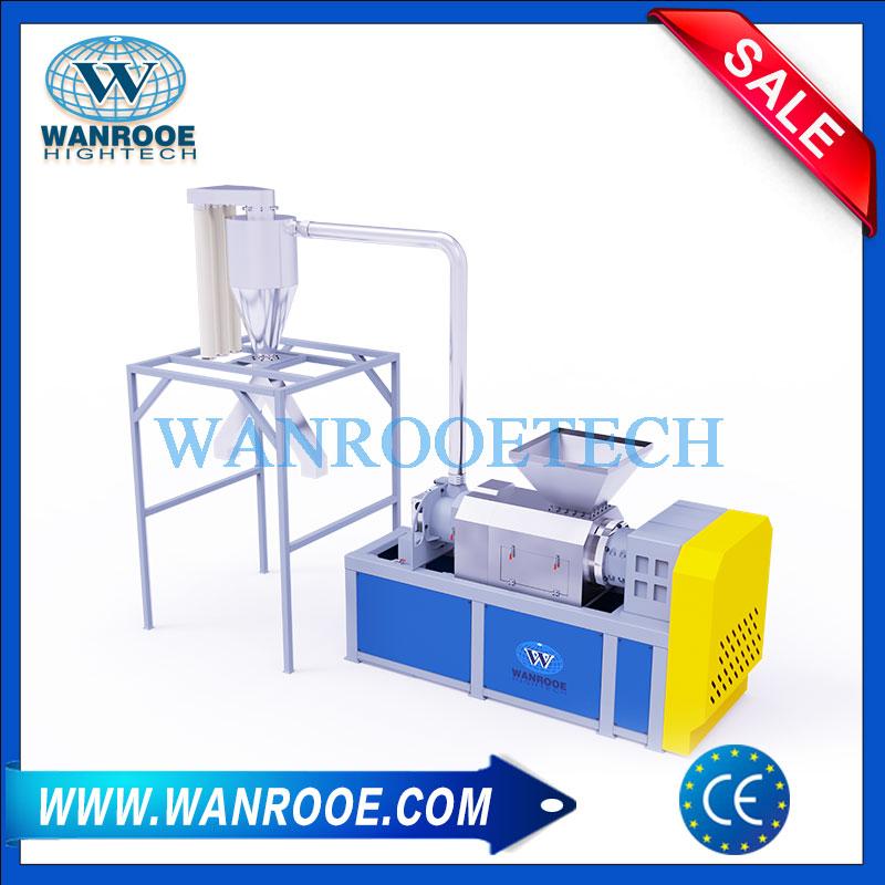 Agricultural Film Squeezing Granulator, Plastic Film Squeezing Granulator, Plastic Dewatering Granulator