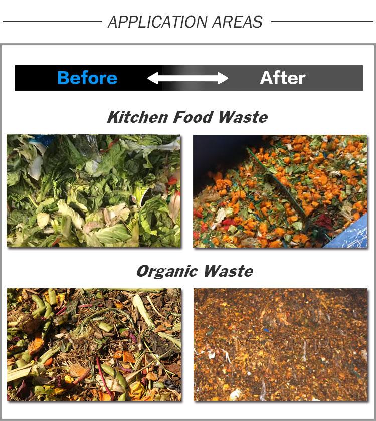 Fruit Vegetable Garbage Shredder Organic Waste Shredder
