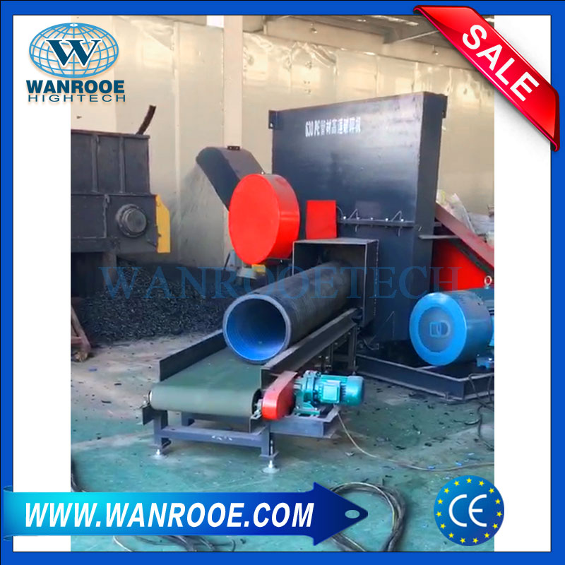 Heavy Duty Crusher, Plastic Pipe Ginder, Plastic Lump Granulator, PE Pipe Crusher, Plastic Pipe Crusher
