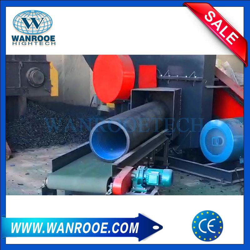 Horizontal Crusher Machine, Plastic Pipe Crusher, PVC Pipe Crusher, HDPE Pipe Crusher, Waste Plastic Crusher