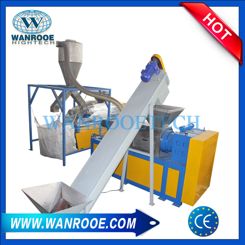 Plastic Film Granulating Machine, Plastic Granulator Machine, Squeezing Pelletizing Granulator Machine, Plastic Pelletizer Machine