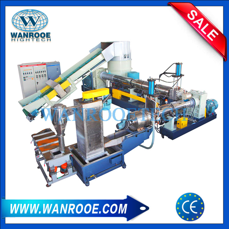 Plastic Granulator, Water Ring Pelletizer, PP PE Pelletizing Machine, Plastic Film Pelletizing Machine, PE PP Film Granulating Machine