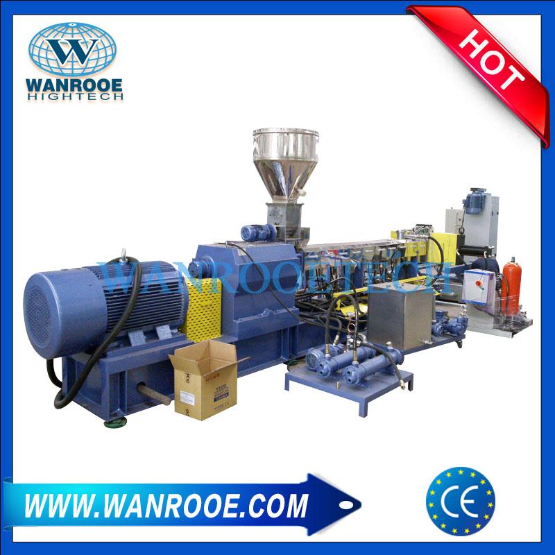 WPC Pelletizing Line, WPC Pelletizing Machine, WPC Granulating Machine, WPC Granulator Machine, Wood Plastic Compounding Pelletizing Line