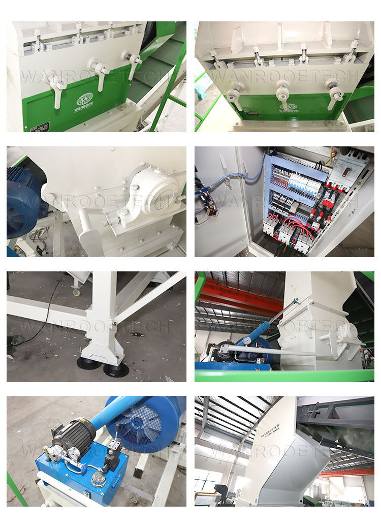 Tire Granulator Crusher,Rubber Granulator Crusher, Tire Crushing Machine, Tyre Granulator Crusher