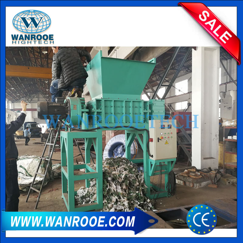Plastic Shredder,Woven Bag Shredder,Tons Bag Shredder,Plastic Film Shredder