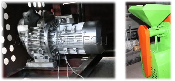 rubber pulverizer Feeding Speed Adjust