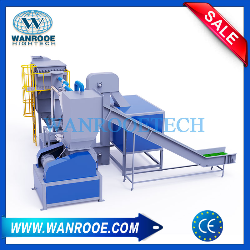 Aluminum Plastic Recycling Machine, Blister Recycling Machine, Food Packaging Bags Recycling, Waste Blister Pack Recycling Machine