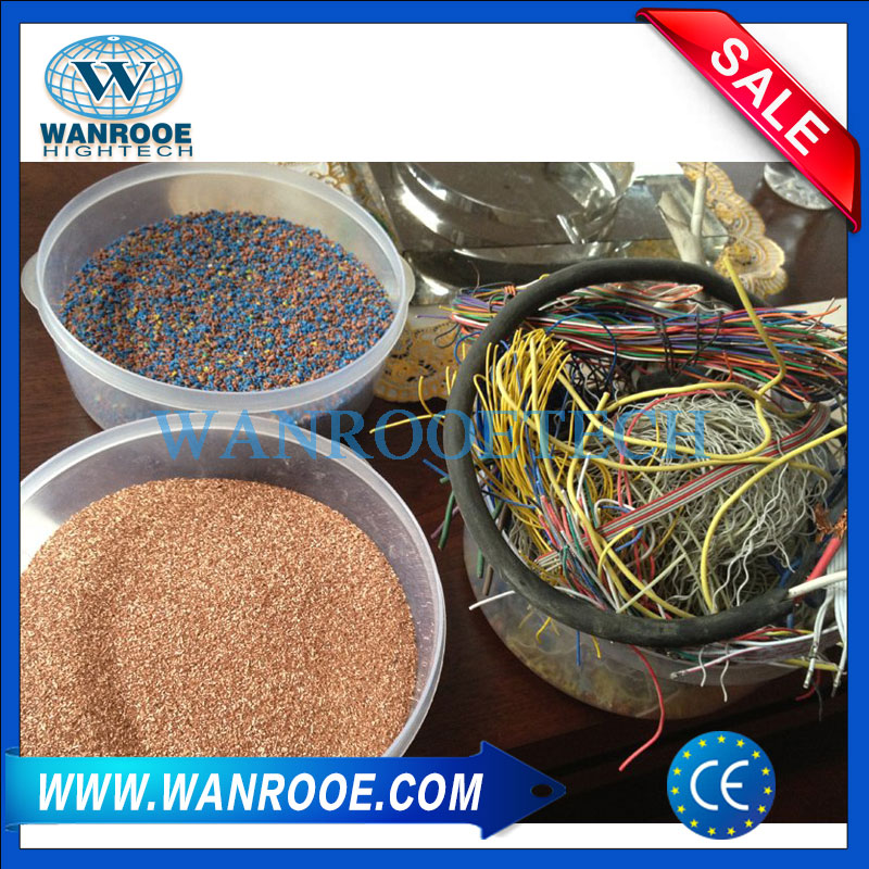 Copper Cable Crusher and Separator, Copper Wire shredder, Copper Wire Recycling Machine,Wire Stripping Machine