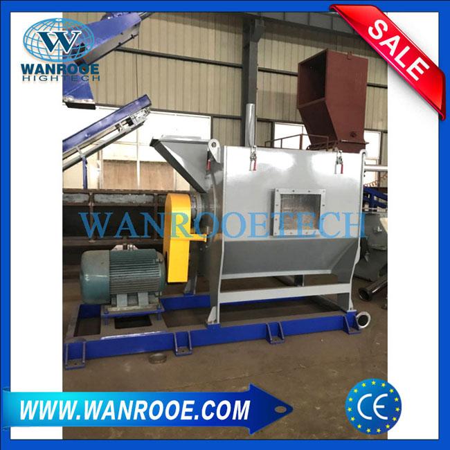 Horizontal Dewater Machine, Plastic Dewatering Machine, Horizontal Dewatering Machine, PET Flakes Dewatering Machine