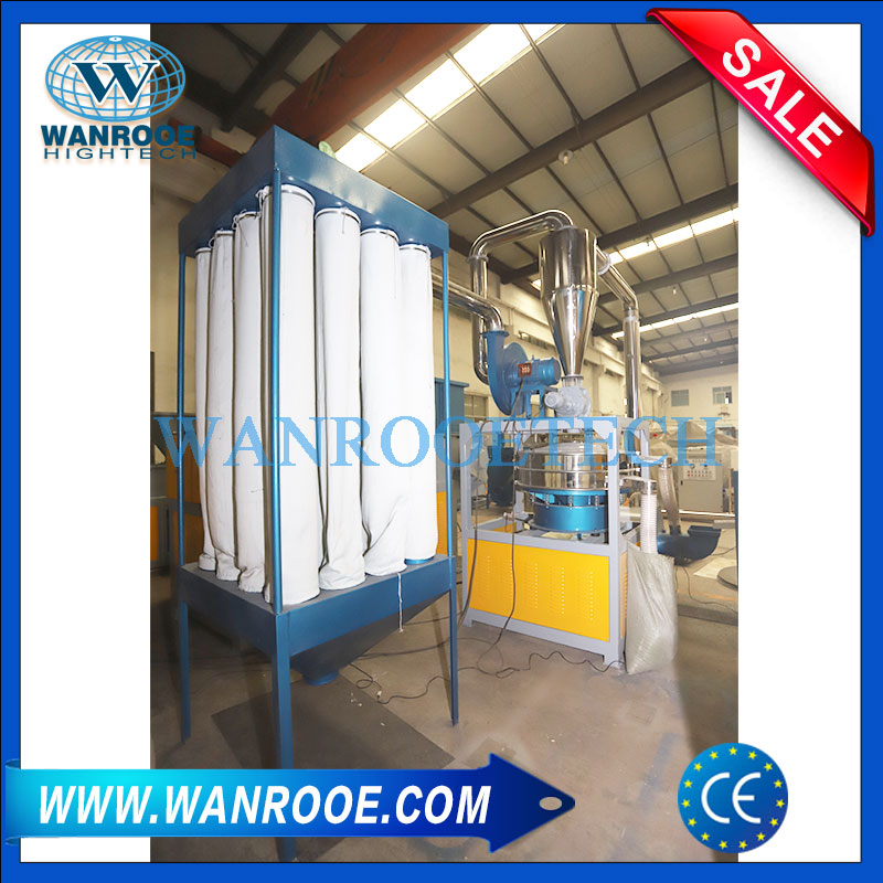 Sound Proof Plastic PET Bottle Crusher Or Granulator