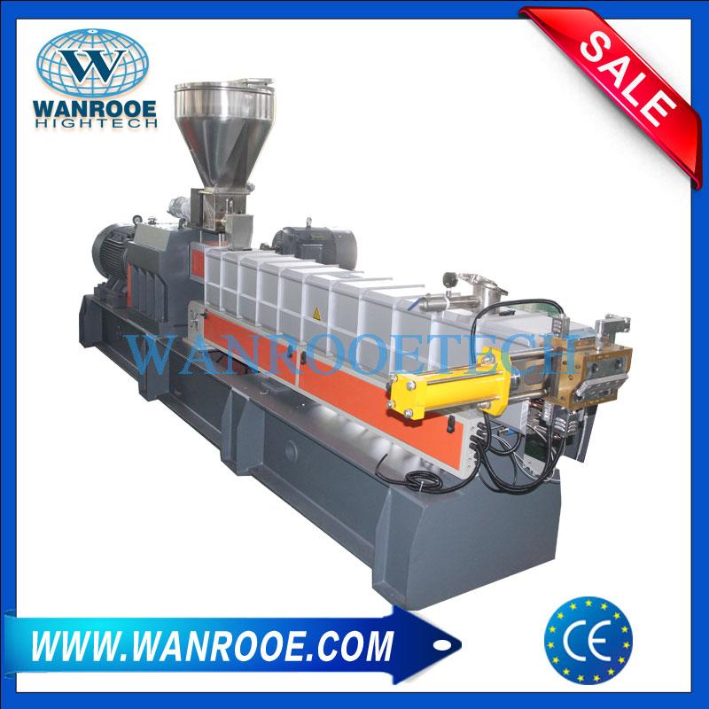 PP PE PET Parallel Twin Screw Extruder, Plastic Granulator, Plastic Pelletizing Machine, Parallel Twin Screw Pelletizer