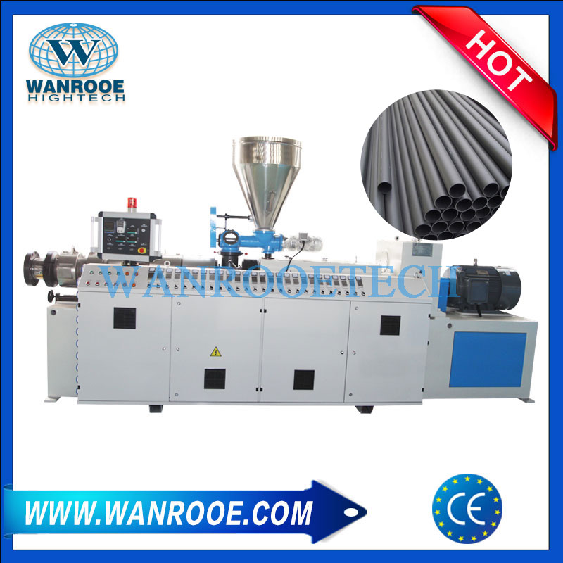Plastic Extruder Machines,PVC Conical Twin Screw Extruder,Plastic Compounding Extruder