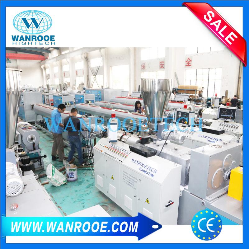 PVC Double Pipe Making Machine,PVC Pipe Extrusion Line,PVC Double Extrusion Pipe Production Line