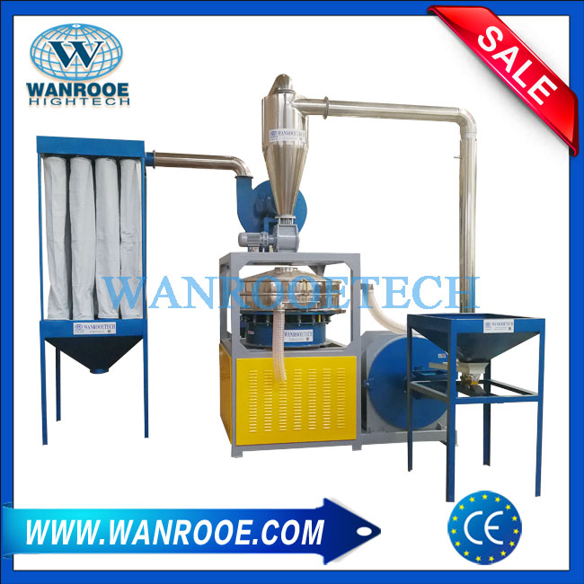 Single Shaft Shredder Built With Strong Crusher