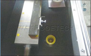 Plastic Crusher Grinder Granulator Knife Blade Sharpening Machine Electromagnetic block