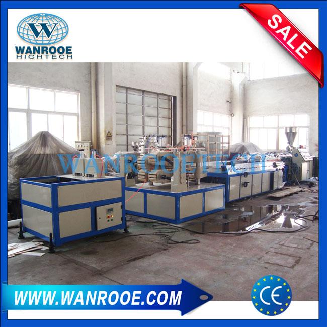 WPC Profile Extrusion Line, Wood Plastic Extrusion Machine,WPC Panel Extrusion Line,WPC Extrusion Machine