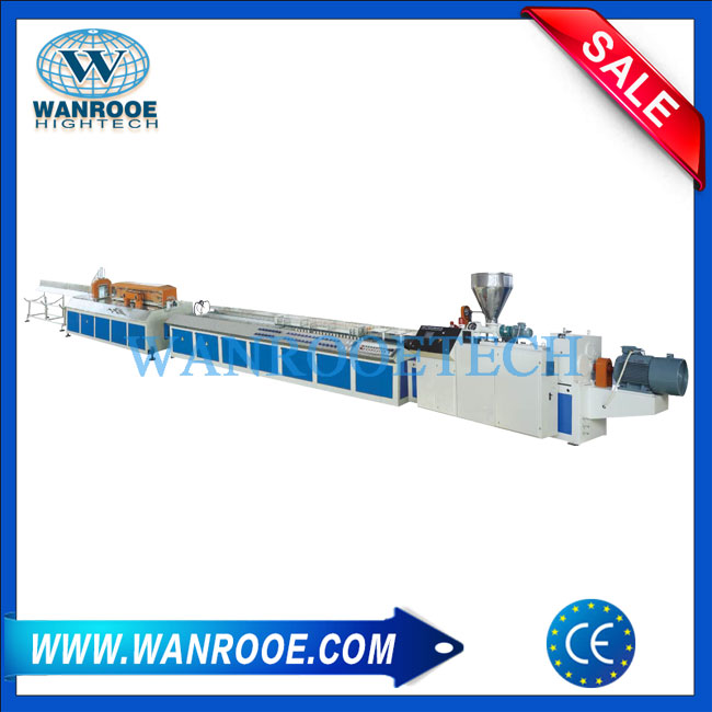 WPC Profile Extrusion Line, WPC Extruder,WPC Profile Production Line,WPC Extrusion Machine