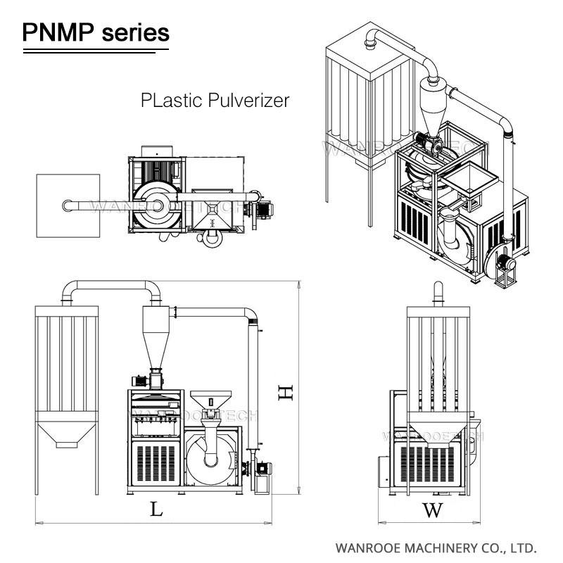PVC Scrap Pulverizer Machine PVC Pulverizer