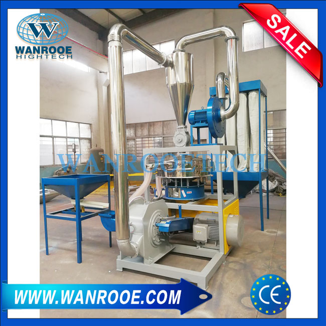 SPC PVC WPC Plastic Floor Crusher Granulator With Hydraulic Opening Cover