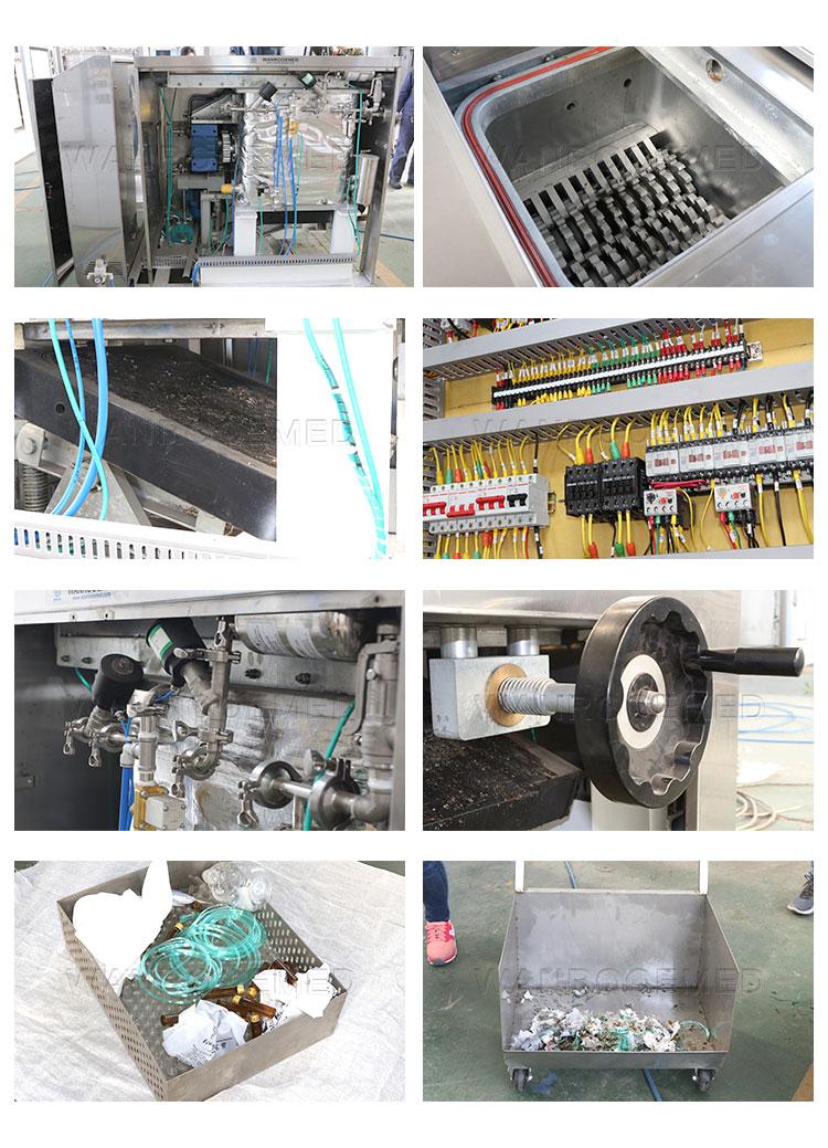 Biomedical Waste Shredder, Medical Waste Sterilizer Shredder, Drug Shredder, Pharma Shredder