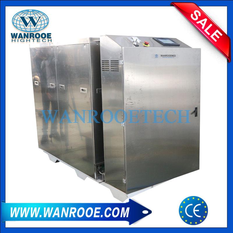 medical waste shredder, medical waste disposal machine, medical waste disposal, hospital medical waste disposal, medical infectious waste disposal