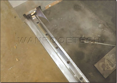 CNC Control System Straight Knife Grinding Machine