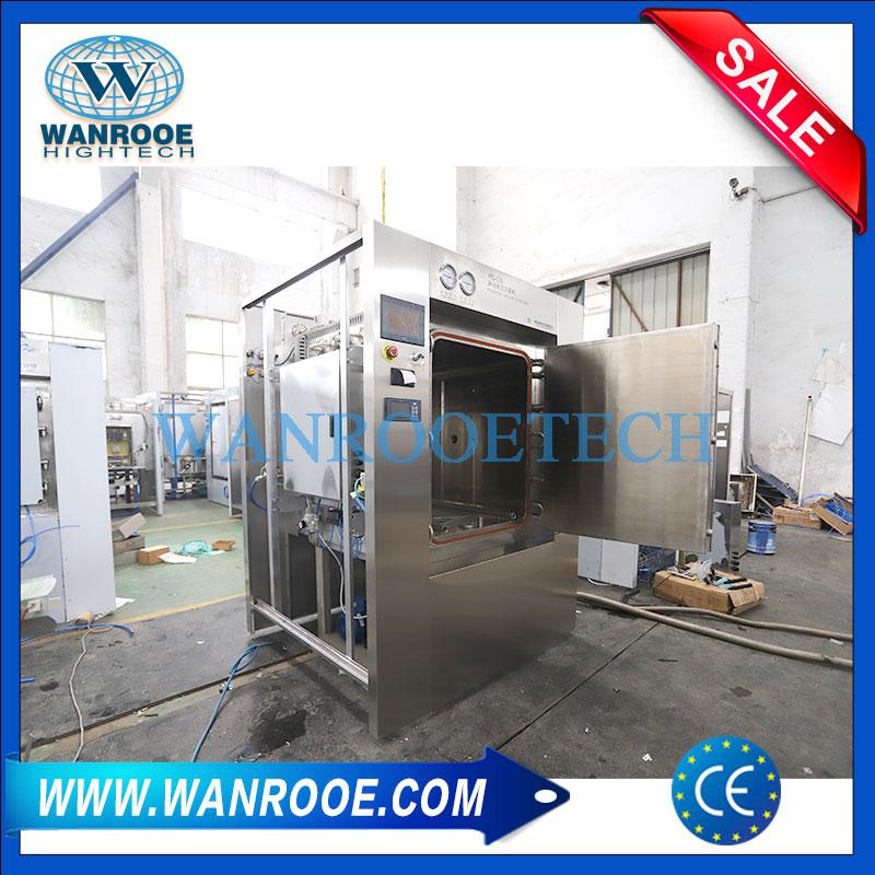 medical autoclave, steam sterilizer, pulsating vacuum sterilizer, medical waste treatment, steam sterilization machine