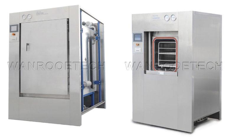 YG Pulsating Vacuum Sterilizer open door style