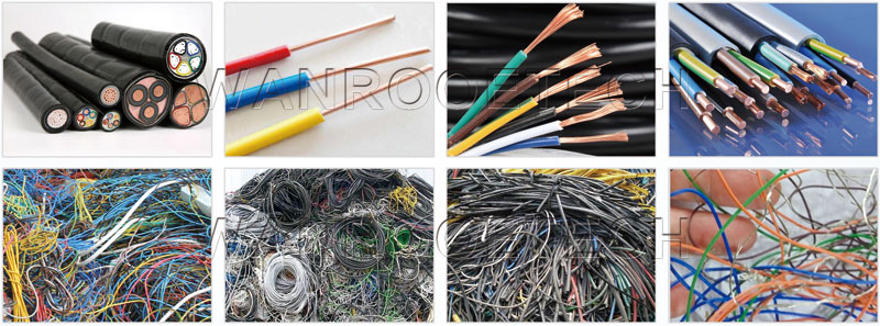 waste copper cable wire