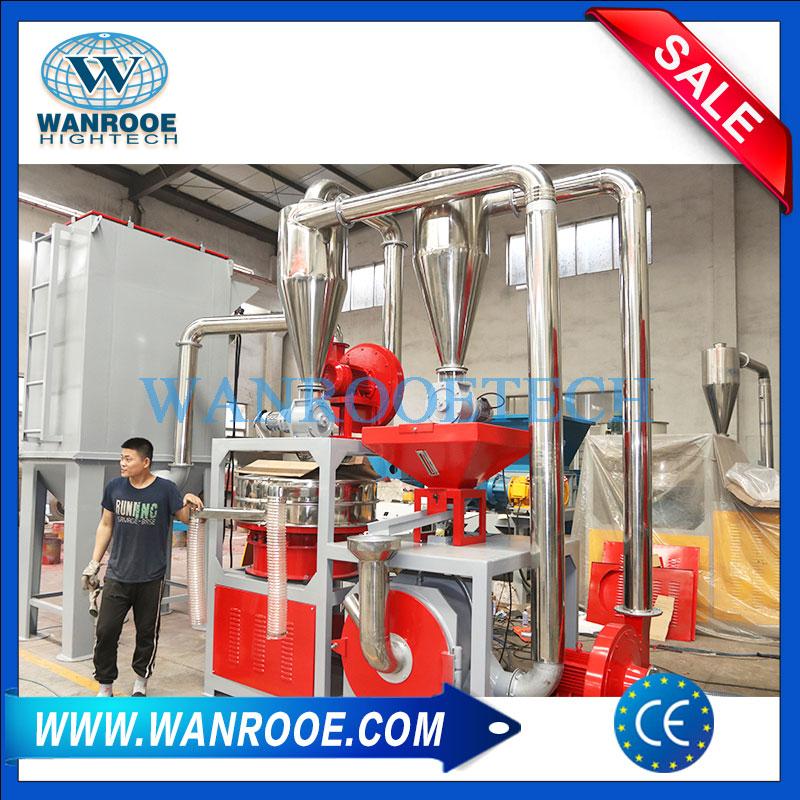 aluminum plastic pulverizer, aluminum plastic grinding machine, aluminum plastic grinder, plastic and aluminum recycling machine, plastic grinding machine